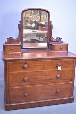 Lot 489 - Victorian dressing chest.