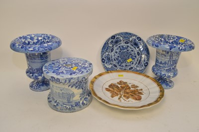 Lot 345 - Gustafsberg Blue & White etc