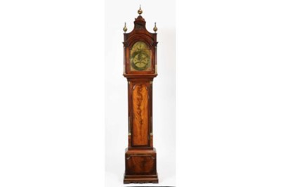 Lot 751 - James Allen, London - eight day musical mahogany longcase clock