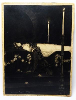 Lot 887 - Charles Allen Gilbert - watercolour