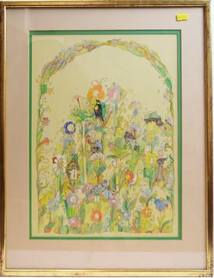 Lot 211 - Diane Esson - watercolour.