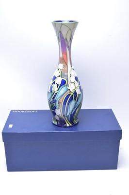 Lot 206 - Moorcroft limited edition vase.