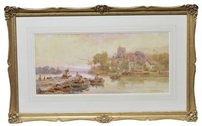 Lot 849 - Walter Stuart Lloyd - watercolour.