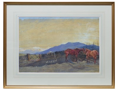 Lot 848 - Attributed to Charles Richardson - watercolour.