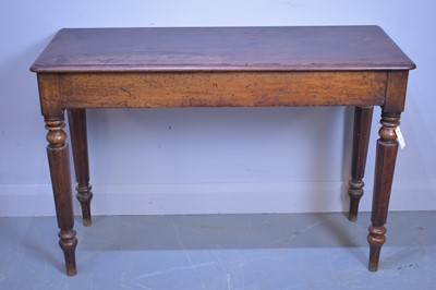 Lot 454 - Victorian side table.