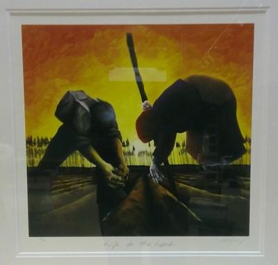 Lot 853 - Mackenzie Thorpe - limited edition print