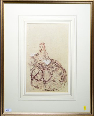Lot 839 - Sir William Russell Flint - Limited edition print