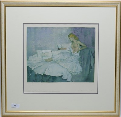 Lot 53 - Sir William Russell Flint - limited edition.