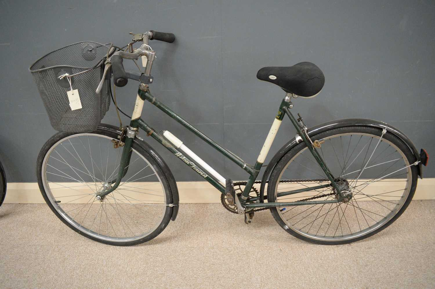 Lot 716 - A woman's Aston Tourist steel bicycle by Hercules.