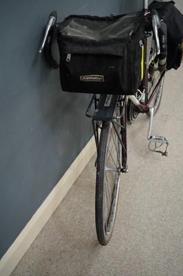 Lot 711 - A Raleigh Dyna-Tech touring bicycle.