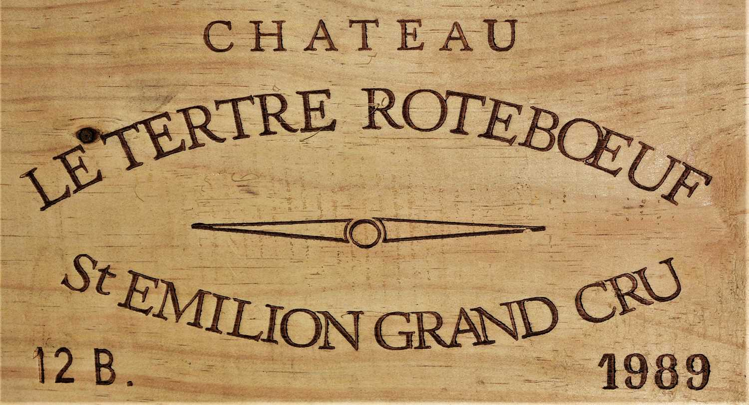 268 - Chateau Tertre Roteboeuf 1989