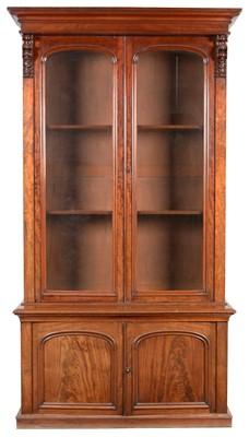 Lot 895 - A Victorian mahogany bookcase