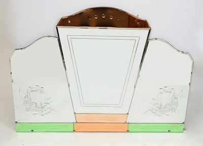 Lot 29 - Art Deco wall mirror