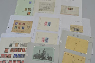 Lot 184 - France Military franks and others