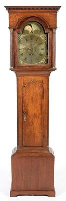 Lot 752 - John Dobie, Tanfield - An 18th Century eight day longcase clock