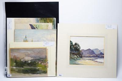 Lot 900 - Mixed Artists - watercolours