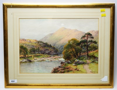 Lot 894 - Harry Sticks - watercolour