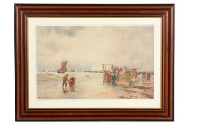 Lot 310 - Thomas Bush Hardy - watercolour.