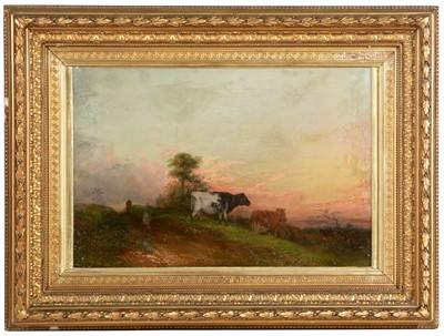 Lot 396 - William Henry Pigott - oil.
