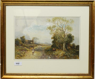 Lot 81 - William Manners - watercolour.