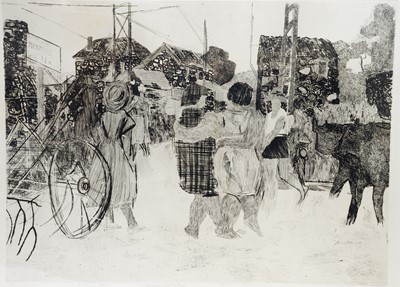 Lot 160 - Anthony Gross- etching