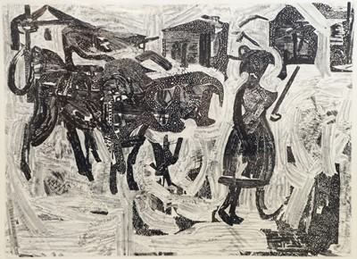 Lot 161 - Anthony Gross- etching