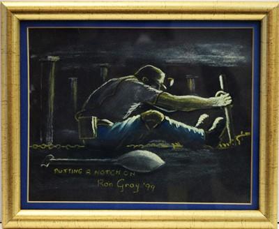 Lot 240 - Ron Gray - watercolour.