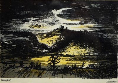Lot 176 - After John Piper - lithograph.