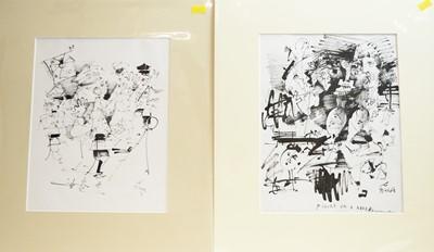Lot 222 - Antoni Sulek - watercolours.