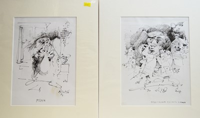 Lot 223 - Antoni Sulek - watercolours.