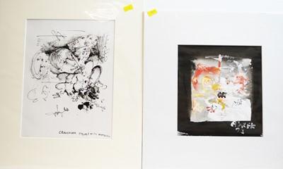 Lot 224 - Antoni Sulek - watercolours.