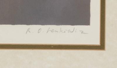 Lot 640 - Robert Oscar Lenkiewicz - limited edition.