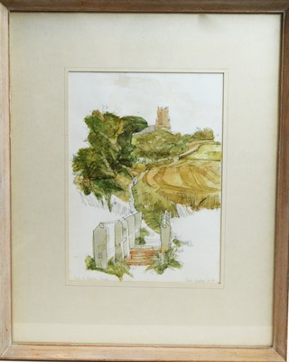 Lot 208 - Ross Hickling - watercolours.