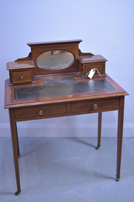 Lot 472 - Edwardian lady's writing desk.
