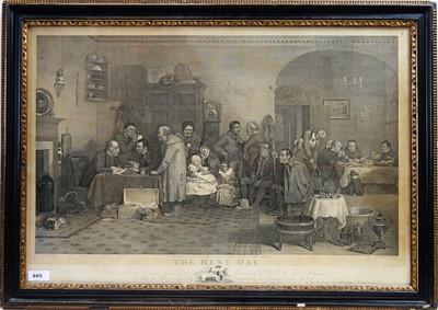 Lot 885 - After David Wilkie - engraving