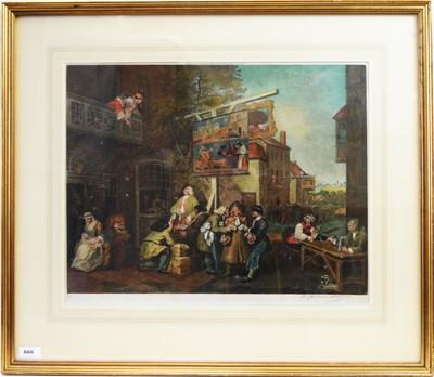 Lot 886 - After William Hogarth - stipple engraving