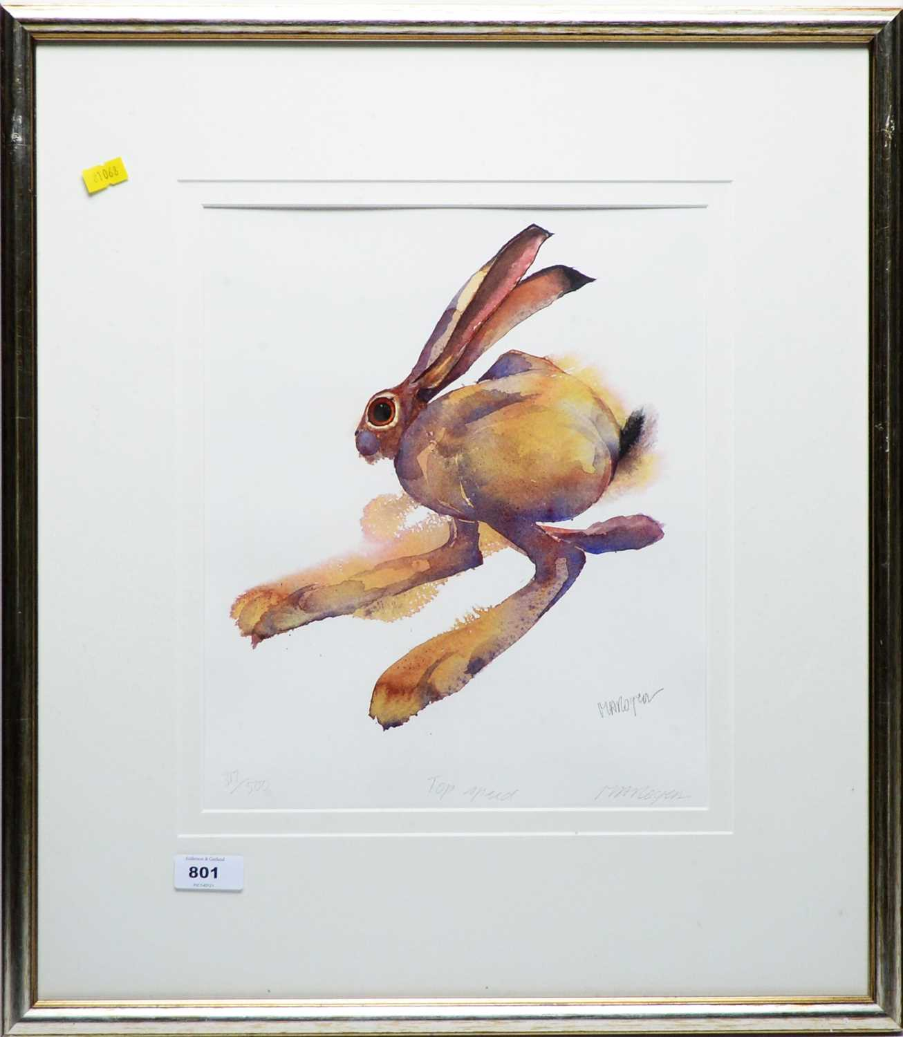 Lot 801 - Mary Ann Rogers - print.