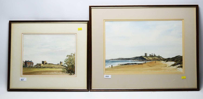 Lot 810 - Lewis W* Thomson - watercolours.