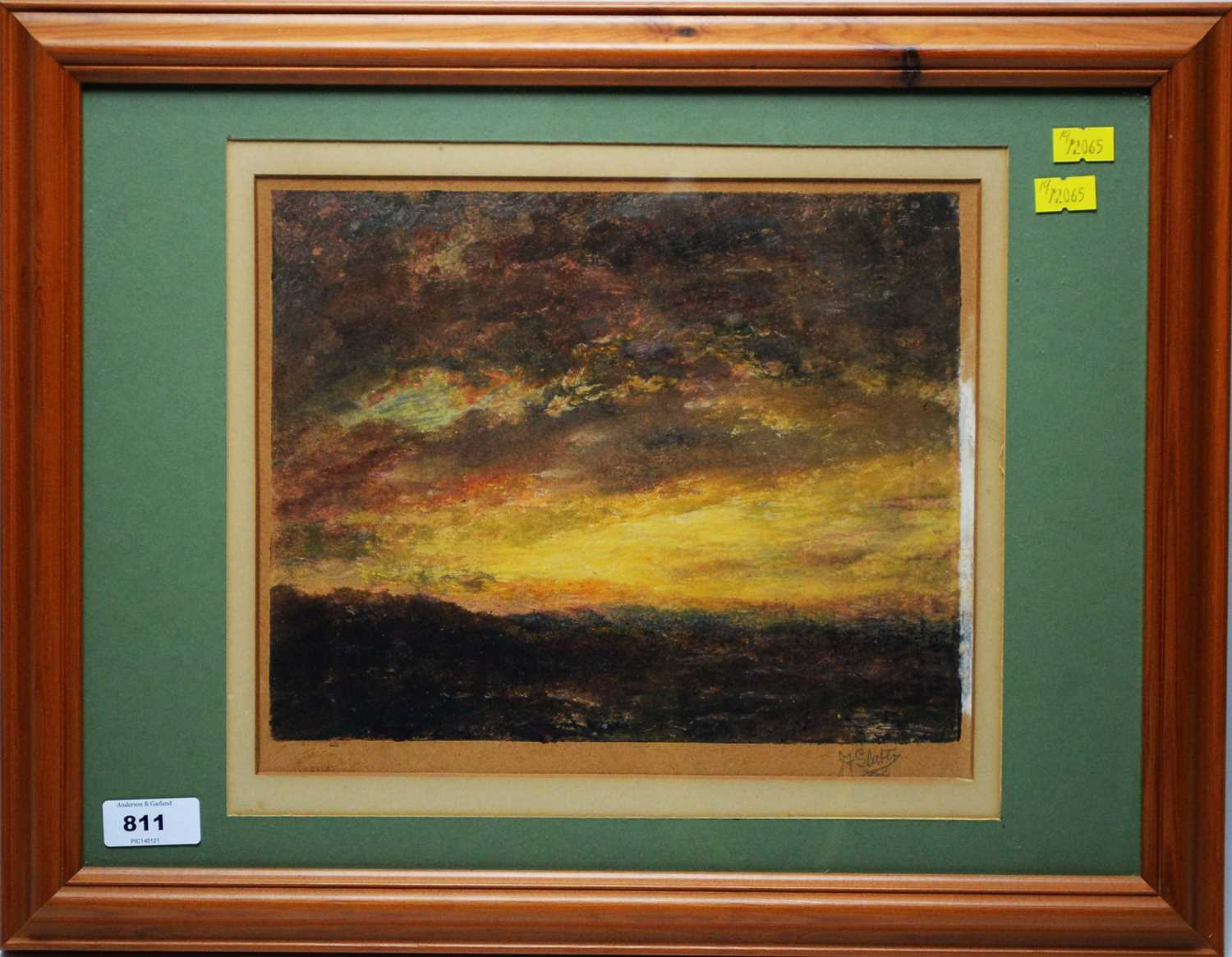 Lot 811 - John Falconar Slater - watercolour.
