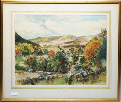 Lot 950 - Tom Manson - watercolour.