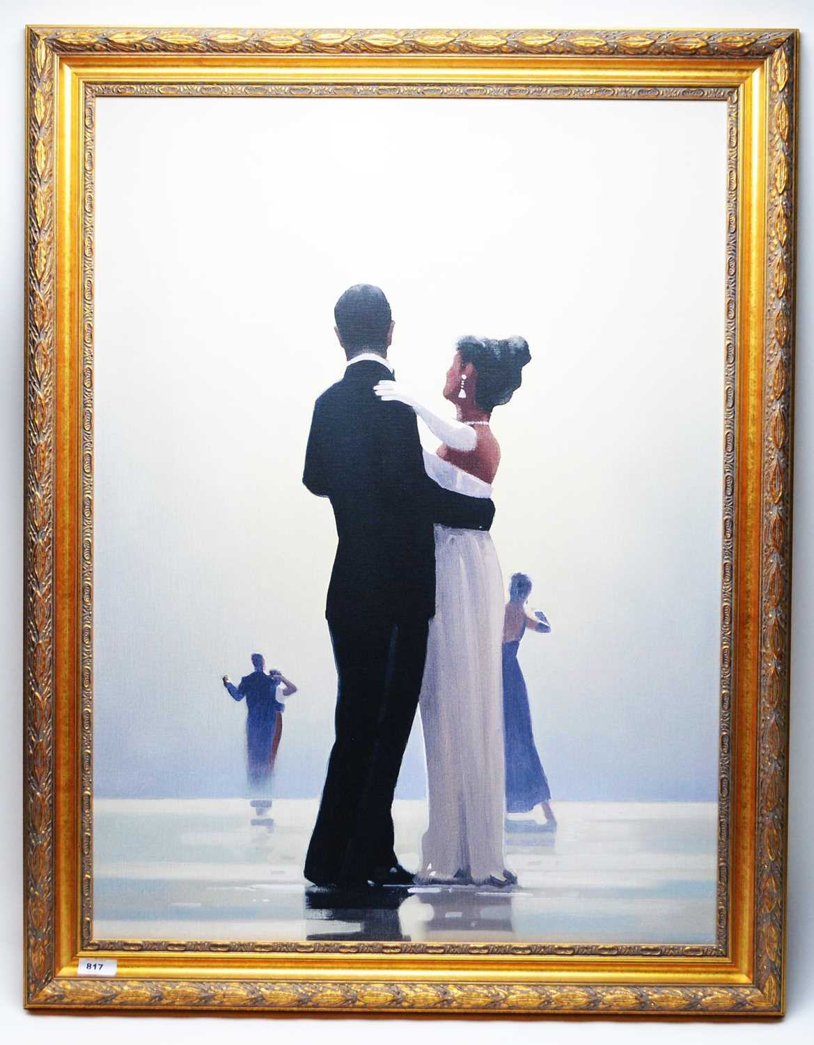 Lot 817 - After Jack Vettriano - print.