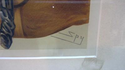 """Lot 820 - """"Spy"""" - prints."""