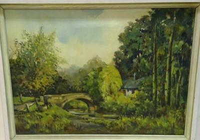 Lot 832 - David Nahmad - oil.