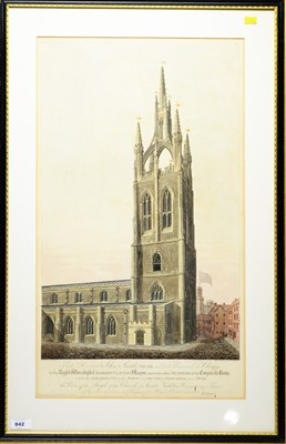 Lot 842 - After William Fowler - coloured engraving