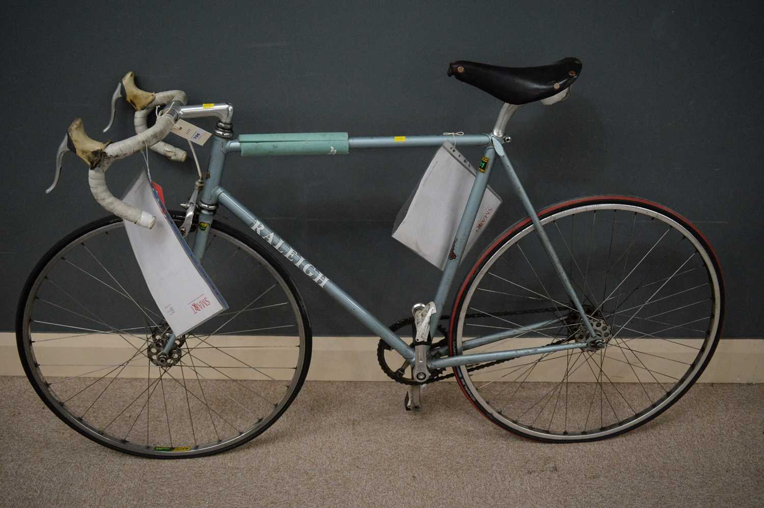 Lot 706 - A single-speed bicycle.