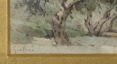Lot 314 - Giolamo Giallina - watercolour