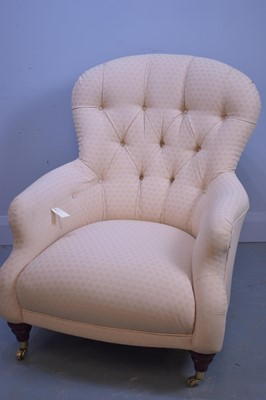 Lot 506 - Victorian style occasional chair.