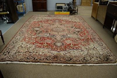 Lot 139 - Heriz carpet.