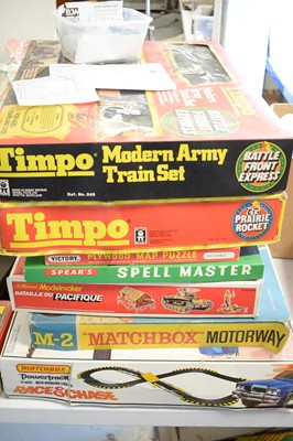 Lot 339 - Seven boxed games.