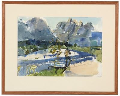 Lot 313 - The Earl Haig - watercolour.